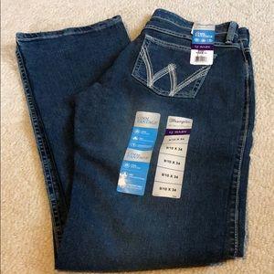 NWT 9/10 x 34 Wrangler Q-Baby Cool Vantage Jeans